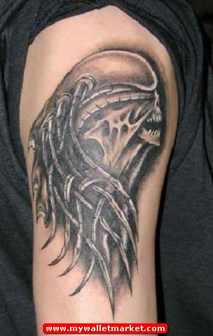 Alien Tattoos, 42 Tattoo Designs Website by mywalletmarket on DeviantArt