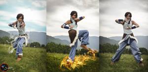 The new avatar - The legend of Korra by Neigeamer