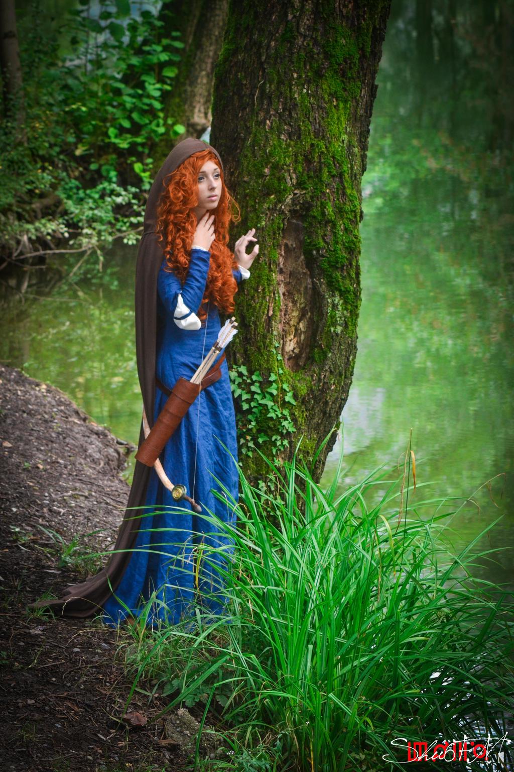 Merida- I'm the princess. by Neigeamer