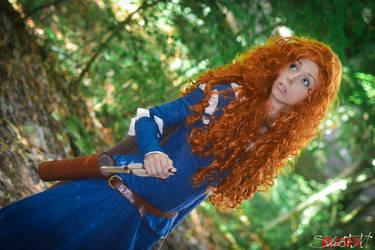 The brave - The princess Merida by Neigeamer