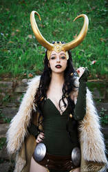 Lady Loki ~ by Neigeamer