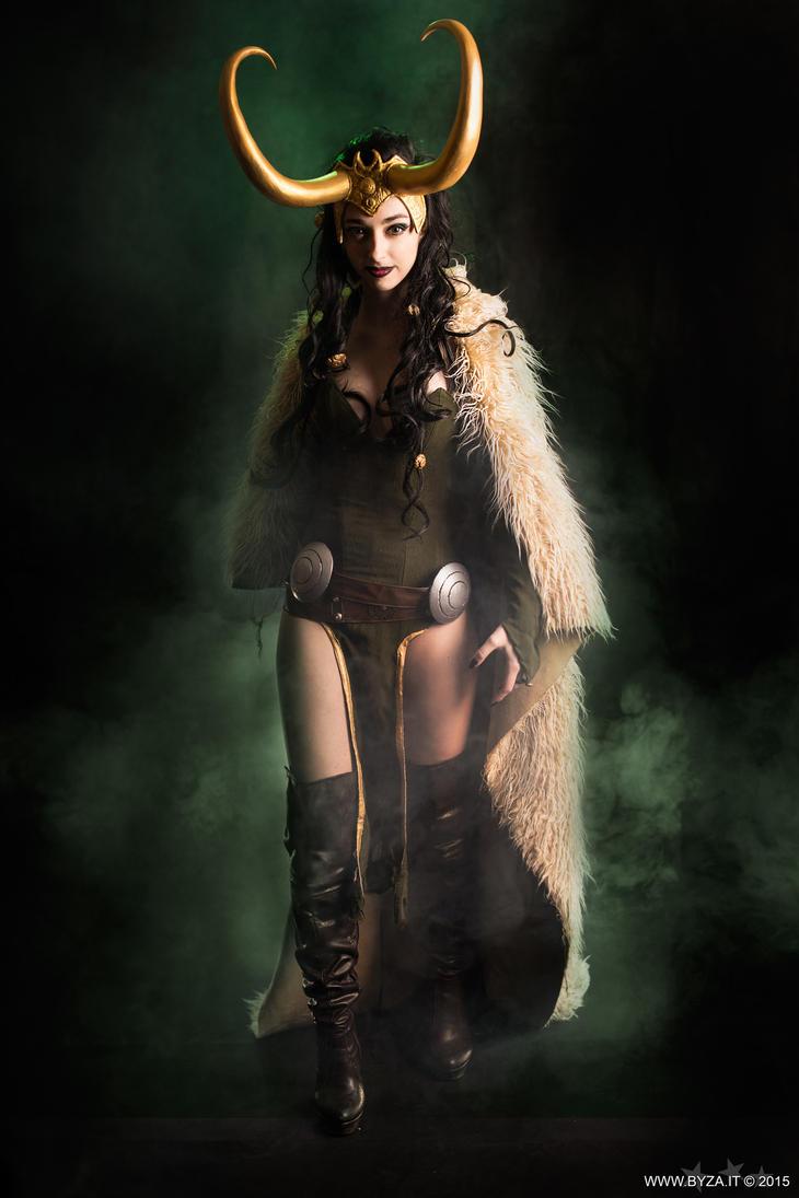 Lady Loki ~ by Neigeamer