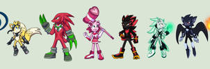 Sonic Character Redesigns - Heroes