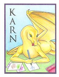 Karn Con Badge by Karnanyd