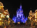 Cinderella Castle Night View