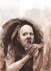 Anna-varney Cantodea portrait. by HavetVargar