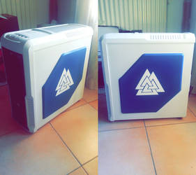 Customized PC Case - SMITE Norse Pantheon by tomtomss