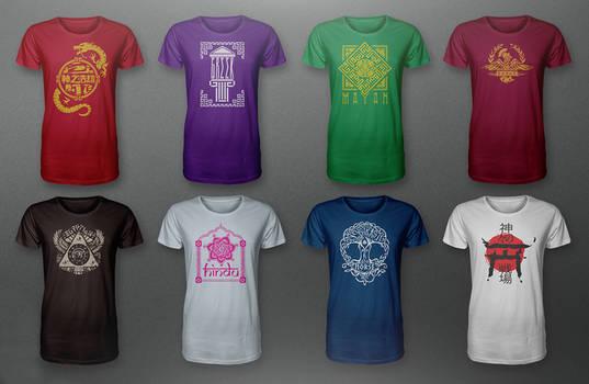 New SMITE Pantheon Shirts