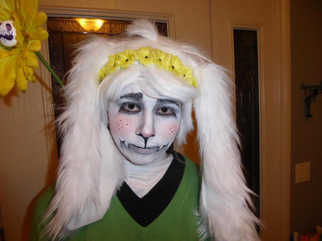 Kid Asriel Halloween Costume 4 by Ixenkothar