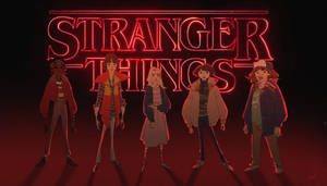Stranger Things by emotionillustration