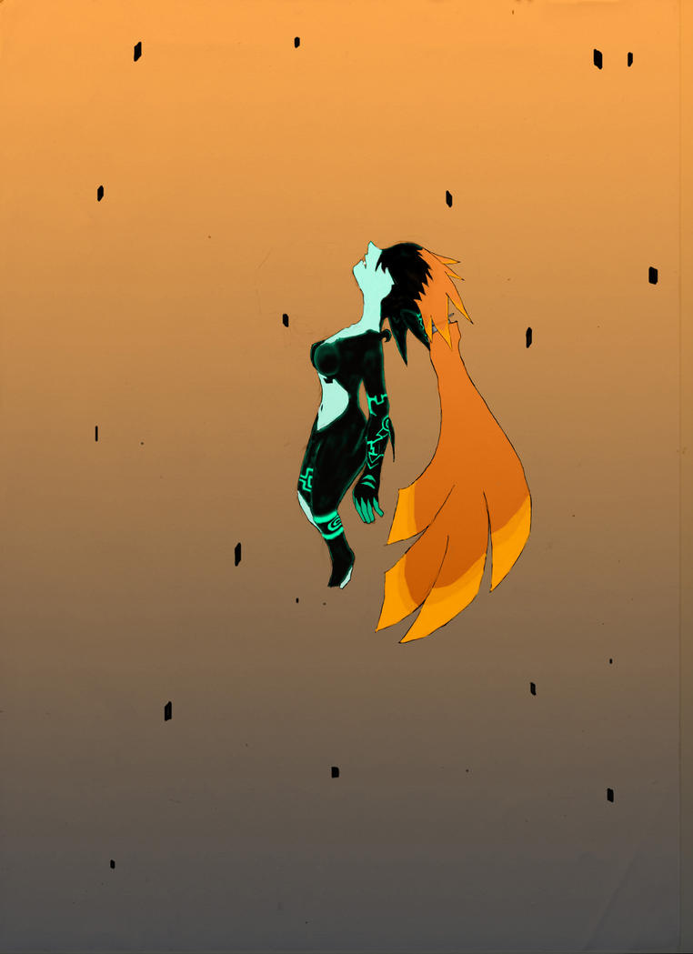 Peaceful Midna for Moshata by Debb555