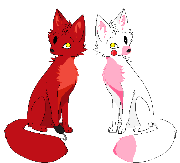 foxy and mangle dating