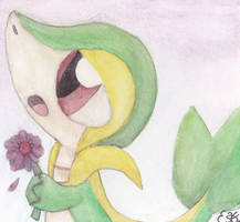 Snivy's Gift by Oomles