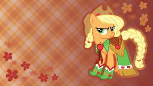 Gala Applejack Wallpaper by Oomles