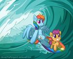 Surfing Across Equestria