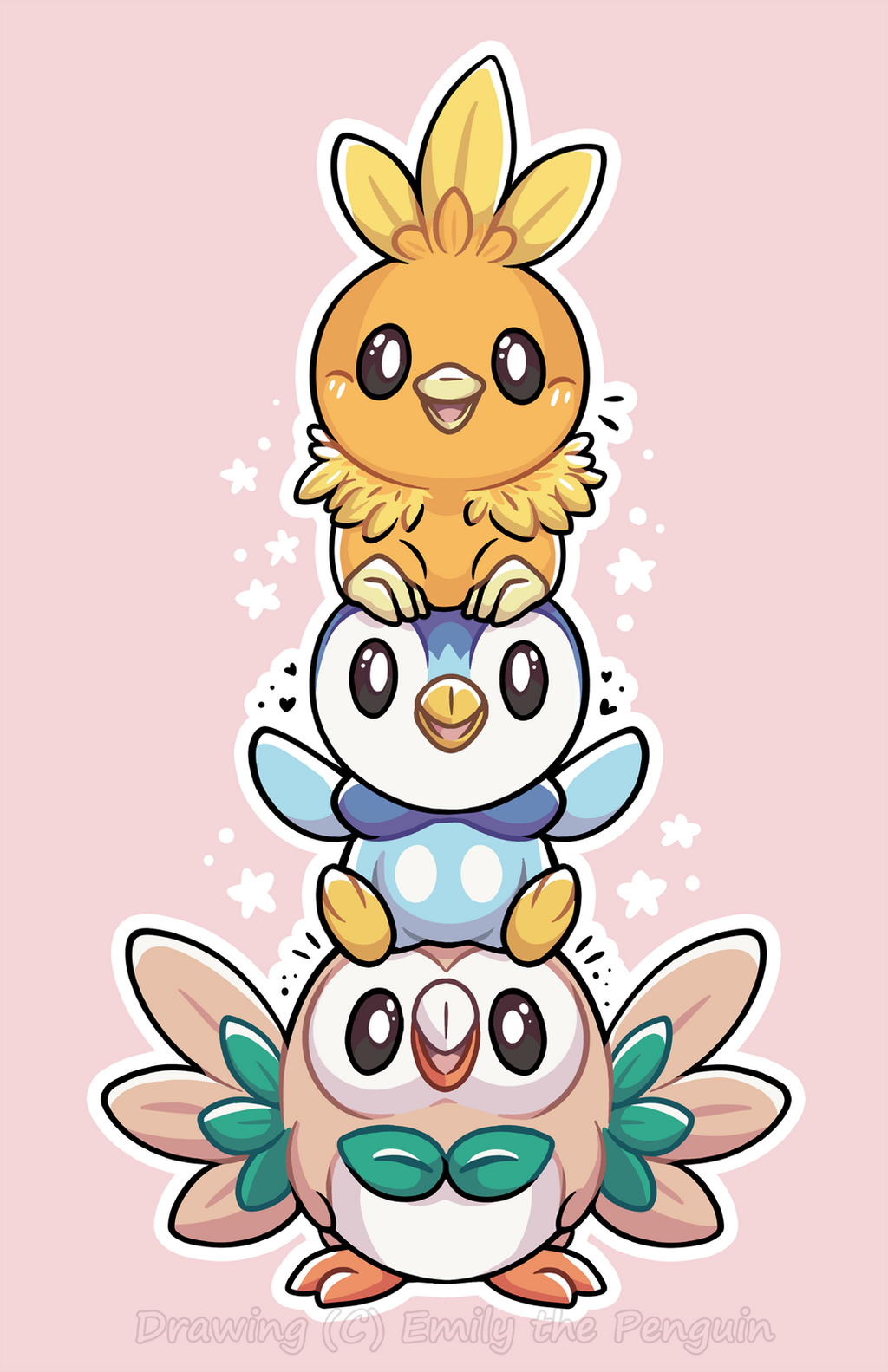 download pokemon starters piplup - photo #44