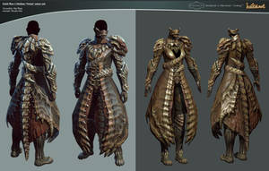 GW 2 Medium 'Orrian' armor set