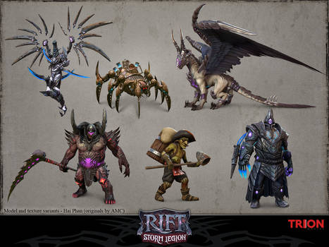 Rift - Model and texture variants