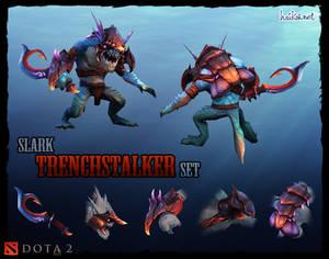DOTA 2 Slark Trenchstalker set