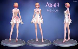Aion Elyos 3d fan art model by haikai13