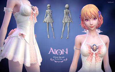 Aion Elyos 3d fan art model details