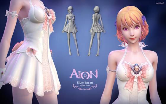 Aion Elyos 3d fan art model details