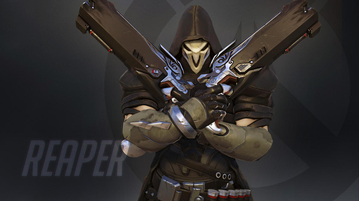 Overwatch Wallpaper: Reaper by haikai13