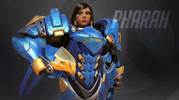 Overwatch Wallpaper: Phara