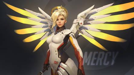 Overwatch Wallpaper: Mercy