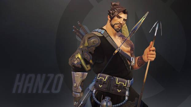 Overwatch Wallpaper: Hanzo