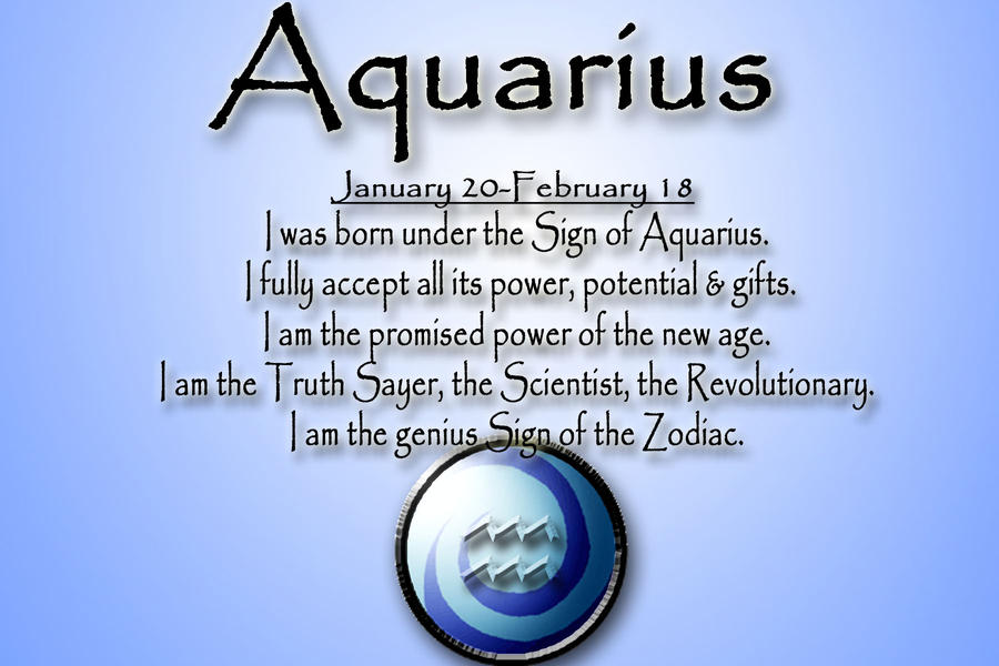 Aquarius card by SheWhoWalksWithThee