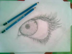 first EYE drawing