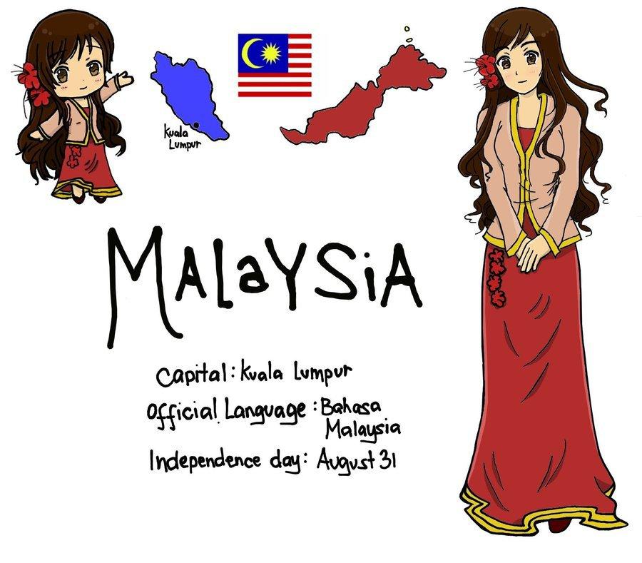 Manga Online Malaysia: APH OC Information: Malaysia By Dearestchan On DeviantArt