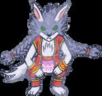 Sveta wolf form - Sun Saga