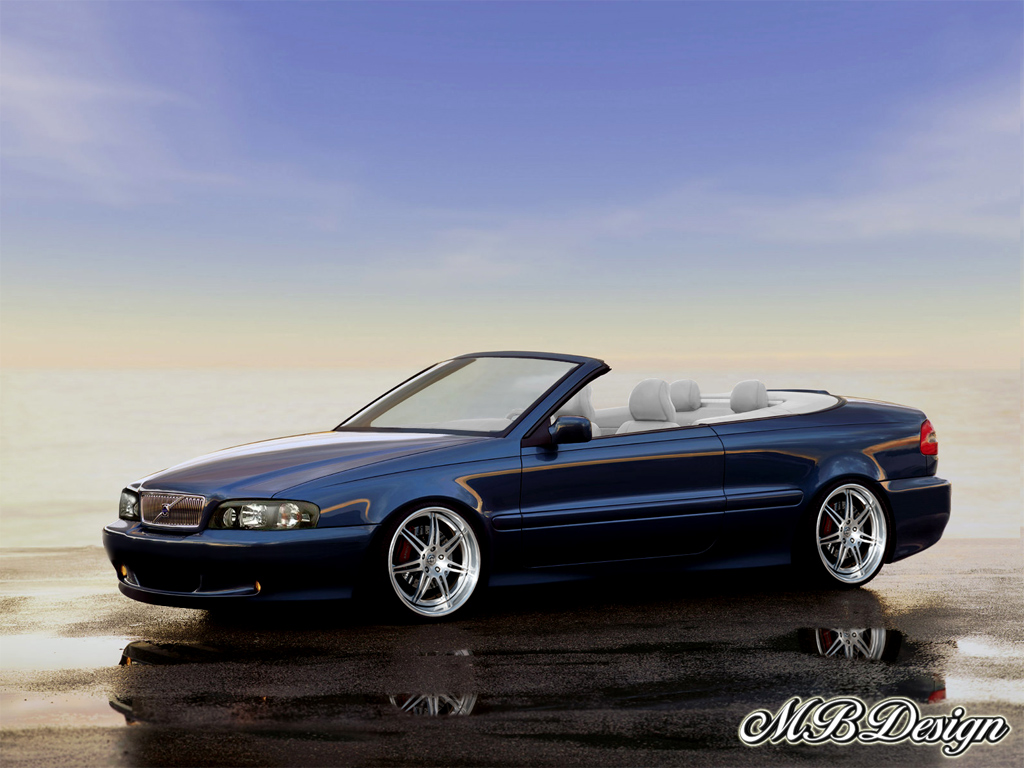 volvo c70 convertible by mbport on deviantart. Black Bedroom Furniture Sets. Home Design Ideas
