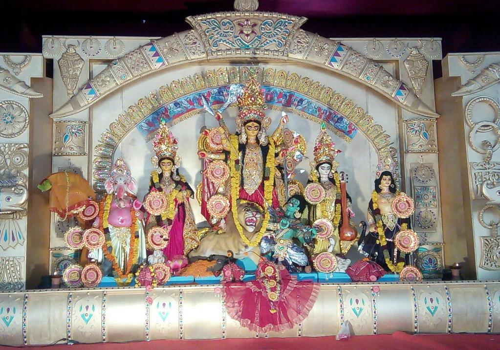 devi Durga  by artbhatta