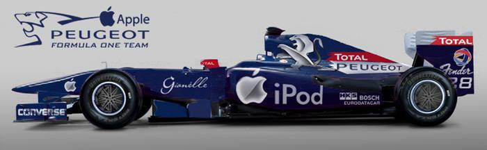 Peugeot Apple F1 2010