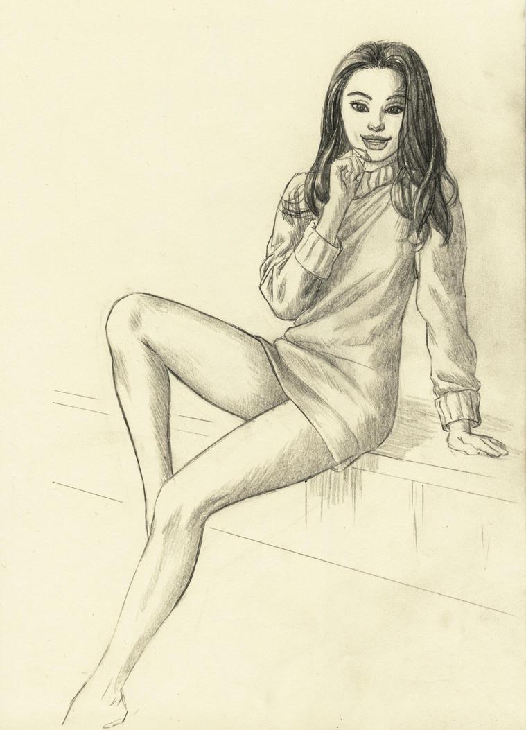 Rapid sketch by cretaceo