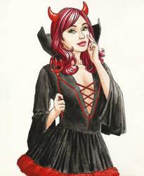 Halloween girl by cretaceo