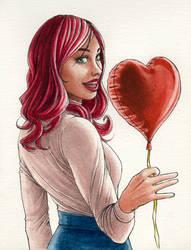 Happy Valentine's Day by cretaceo