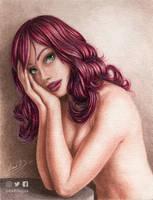 Portrait by cretaceo