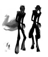 Spring Heeled Jack concepts by noiselessness