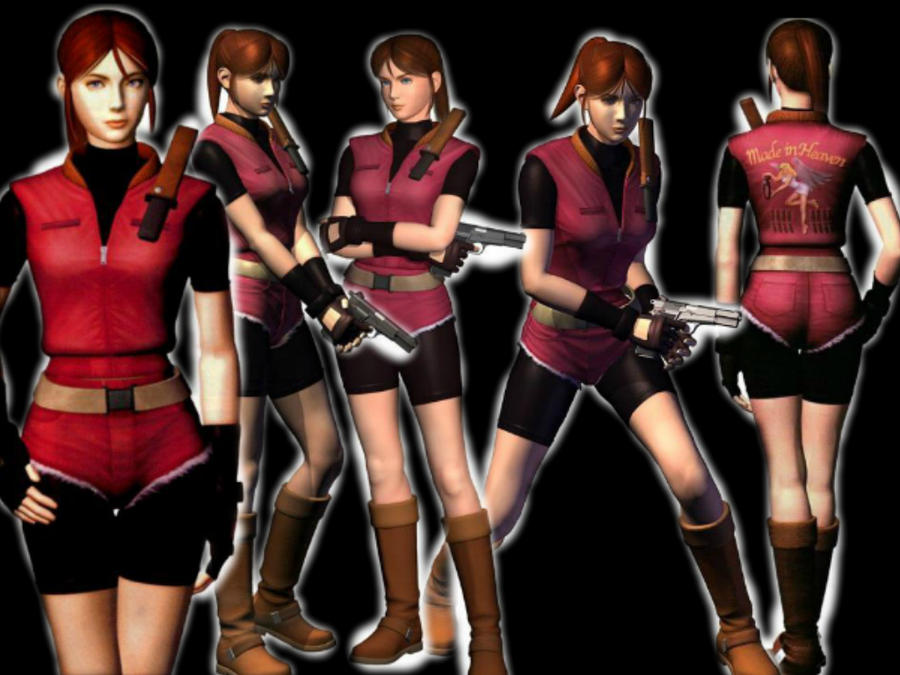 Claire Redfield Version Resident Evil 2 By Sandraredfield On