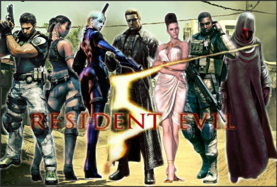 Resident evil 5 wallpaper by sandraredfield on deviantart - Wallpaper resident evil 5 ...