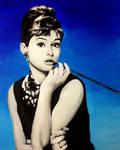 Audrey Hepburn by Chris-Tin-A