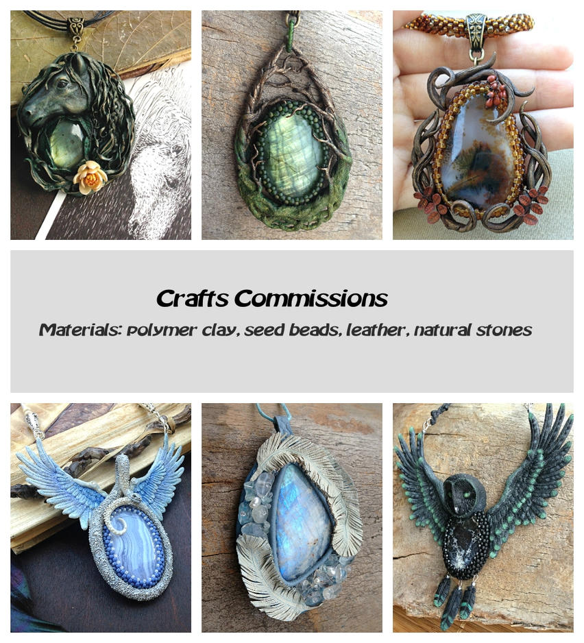 Crafts commissions by DeathMystery