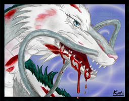 Adamant Dragon Haku by DeathMystery