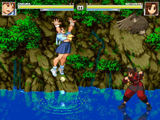 Sakura and Nakoruru Updated for Interactive Mugen by Theautisticonenamedm