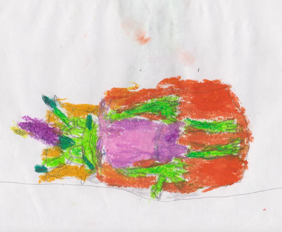 Sleeping Carol Colored by Theautisticonenamedm