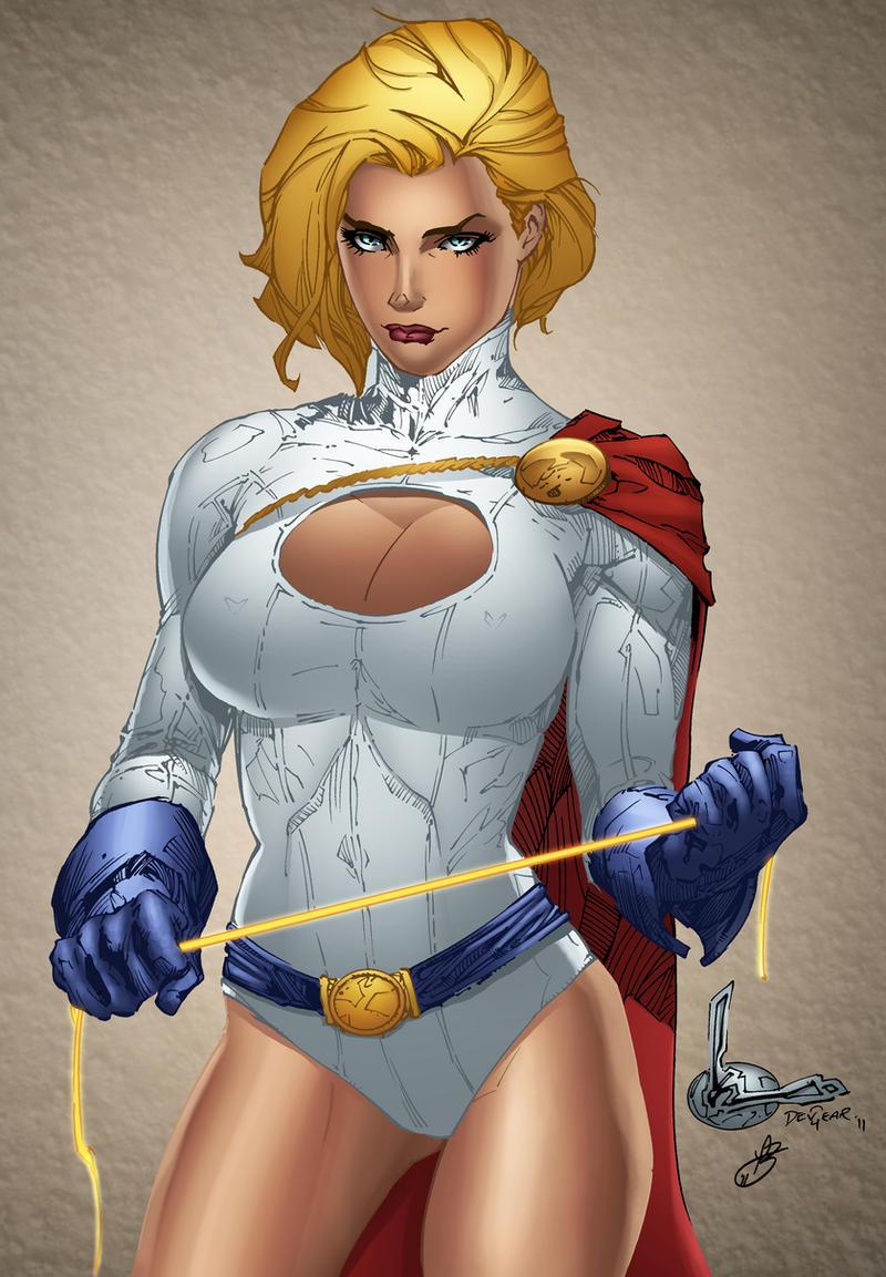 Power Girl BA Colors by TimareeZadel on DeviantArt